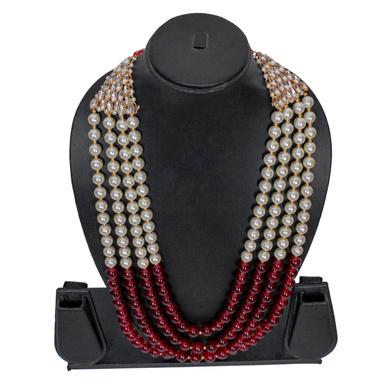 S H A H I T A J Designer Mala/Kanthla for Weddings/Groom Dress or Sherwani (OS850)-1
