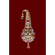 S H A H I T A J Traditional Golden with Pink Stone Brooch or Kalangi with Feather for Barati/Groom/Social Occasions Pagdi Safa or Turban (OS822)-1-sm