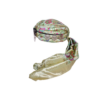 S H A H I T A J Designer Multi-Colored Brocade Unisex Kids and Adults Pagdi Safa or Turban for Fashion Shows & Events (DT836)-18-3