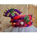 S H A H I T A J Traditional Rajasthani Multi-Colored Silk Vantma or Barmeri Krishna or Ganpati Bhagwan Pagdi Safa or Turban for God's Idol/Kids/Adults (RT860)-ST980_Kids-sm