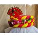S H A H I T A J Traditional Rajasthani Multi-Colored Silk Vantma or Barmeri Krishna or Ganpati Bhagwan Pagdi Safa or Turban for God's Idol/Kids/Adults (RT861)-For Miniature God's Idol (3 inches to 16 inches)-4-sm