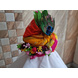 S H A H I T A J Traditional Rajasthani Silk Krishna or Ganpati Bhagwan Pagdi Safa or Turban for God's Idol/Kids/Adults (RT866)-For Miniature God's Idol (3 inches to 16 inches)-4-sm