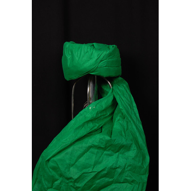 S H A H I T A J Muslim Wedding Cotton Green Imaama Pagdi Safa or Turban for Kids and Adults (RT893)-ST1013_23andHalf