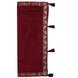 S H A H I T A J Traditional Rajasthani Wedding Maroon Silk Stall/Dupatta/Shawl for Groom or Dulha (DS553)-Free Size-1-sm