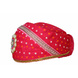 S H A H I T A J Traditional Rajasthani Cotton Rani Bandhej Mewadi Pagdi or Turban for Kids and Adults (MT947)-18-4-sm