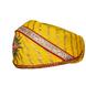 S H A H I T A J Traditional Rajasthani Cotton Yellow Lehariya Mewadi Pagdi or Turban for Kids and Adults (MT948)-18-4-sm