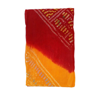 S H A H I T A J Traditional Rajasthani Cotton Multi-Colored Bandhej Barati/Groom/Social Occasions Turban Safa Pagdi Pheta Cloth for Kids and Adults (Bulk Purchase) (CT357)-Pack of 1 (For Kids to Adults)-2