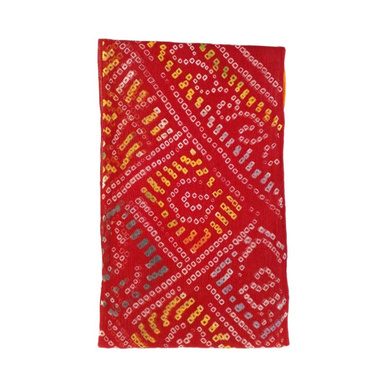 S H A H I T A J Traditional Rajasthani Cotton Multi-Colored Bandhej Barati/Groom/Social Occasions Turban Safa Pagdi Pheta Cloth for Kids and Adults (Bulk Purchase) (CT357)-Pack of 1 (For Kids to Adults)-1
