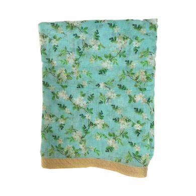 S H A H I T A J Traditional Rajasthani Floral Faux Silk Blue Barati/Groom/Social Occasions Turban Safa Pagdi Pheta Cloth for Kids and Adults (Bulk Purchase) (CT386)-ST546_PACK1