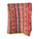 S H A H I T A J Traditional Rajasthani Aztec Print Faux Silk Peach Barati/Groom/Social Occasions Turban Safa Pagdi Pheta Cloth for Kids and Adults (Bulk Purchase) (CT376)-Pack of 1 (For Kids to Adults)-1-sm