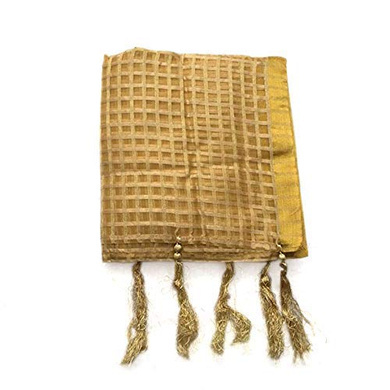 S H A H I T A J Traditional Rajasthani Faux Silk Golden Barati/Groom/Social Occasions Turban Safa Pagdi Pheta Cloth for Kids and Adults (Bulk Purchase) (CT350)-ST510_PACK1