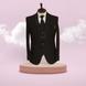 S H A H I T A J Traditional Barati/Groom/Social Occasions Black Self-Design Slim Fit 5-Piece (MW954)-ST1075_40-sm