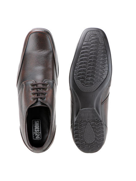 Pine Leather Derby Formal SHOES24-8-Pine-1