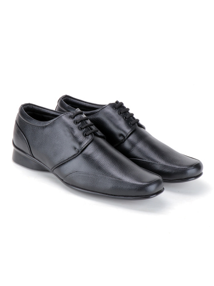 Pine Leather Derby Formal SHOES24-10-Black-6