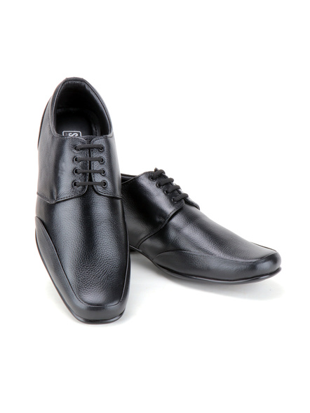 Pine Leather Derby Formal SHOES24-10-Black-7
