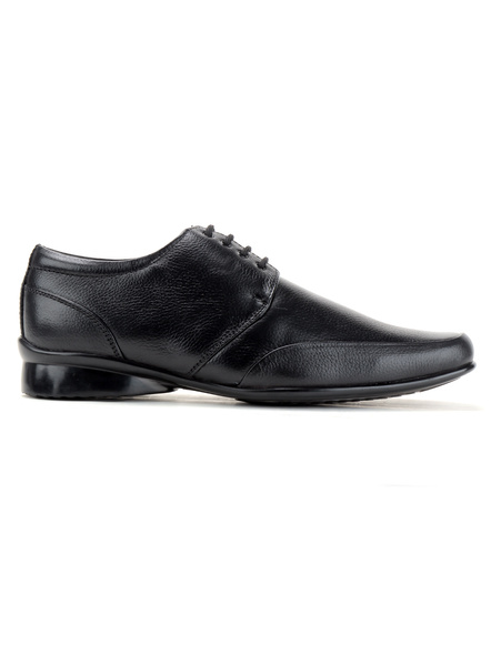 Pine Leather Derby Formal SHOES24-8-Black-3