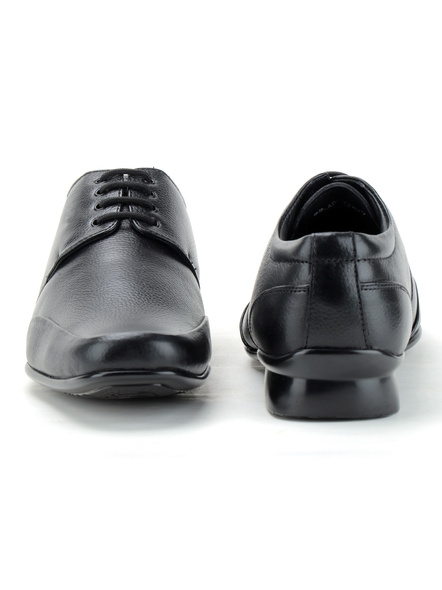 Pine Leather Derby Formal SHOES24-9-Black-4