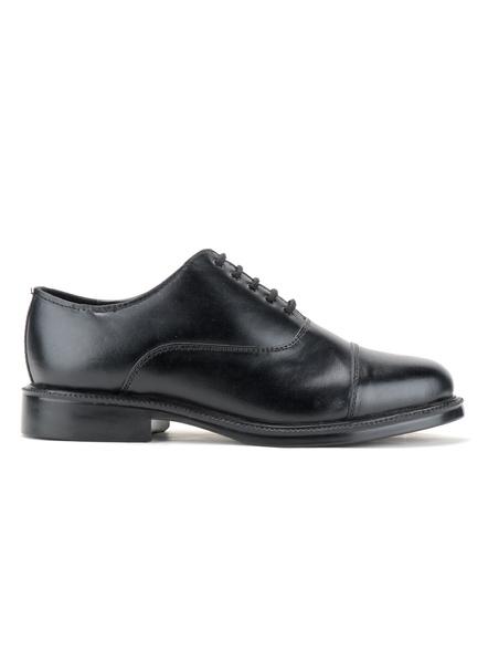 Black Leather Oxford Formal SHOES24-10-Black-2