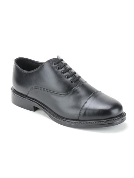 Black Leather Oxford Formal SHOES24-11-Black-1
