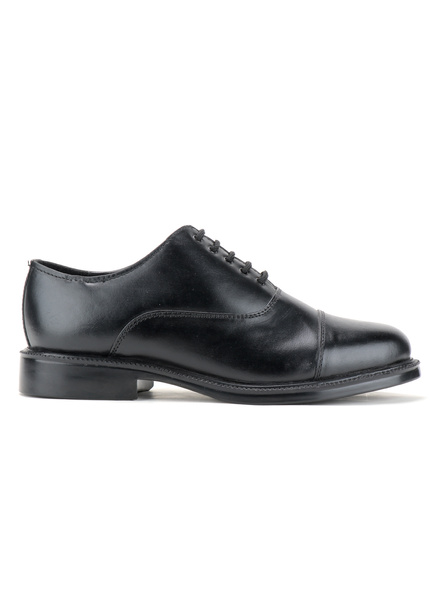 Black Leather Oxford Formal SHOES24-11-Black-2