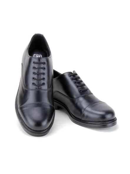 Black Leather Oxford Formal SHOES24-11-Black-7