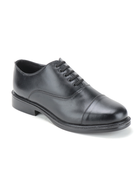 Black Leather Oxford Formal SHOES24-9-Black-1