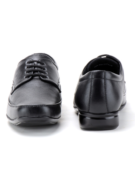 Pine Leather Derby Formal SHOES24-11-Black-3