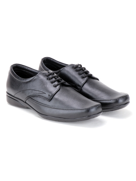 Pine Leather Derby Formal SHOES24-11-Black-6