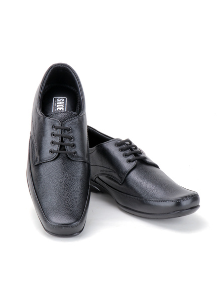Pine Leather Derby Formal SHOES24-11-Black-7