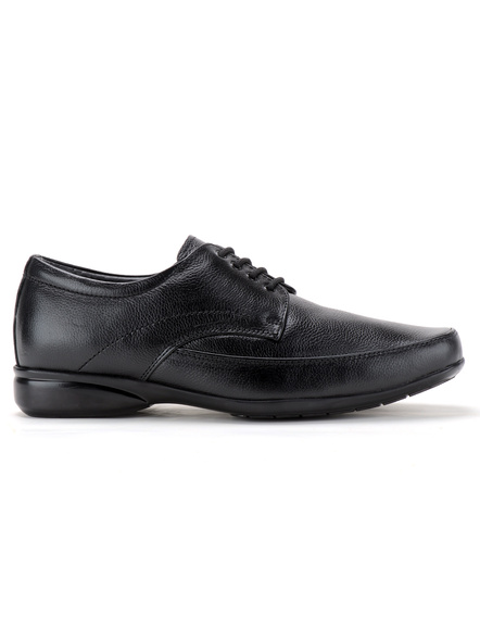 Pine Leather Derby Formal SHOES24-9-Black-2