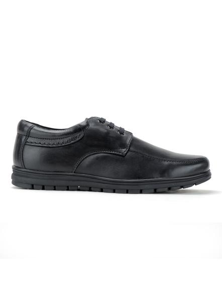 Black Leather Derby Formal SHOES24-10-Black-3