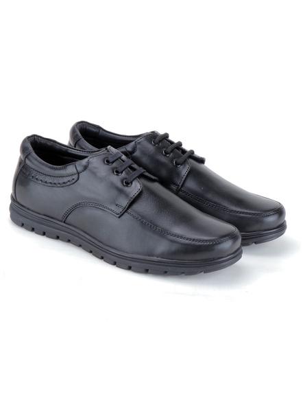 Black Leather Derby Formal SHOES24-10-Black-6
