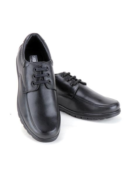 Black Leather Derby Formal SHOES24-10-Black-7