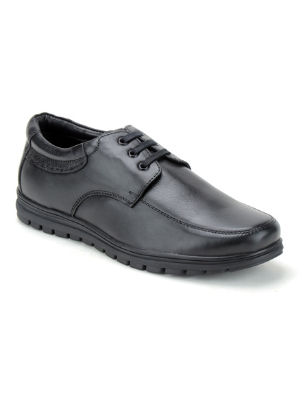 Black Leather Derby Formal SHOES24-8-Black-2