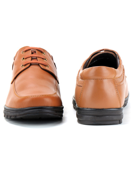 Black Leather Derby Formal SHOES24-10-Tan-6