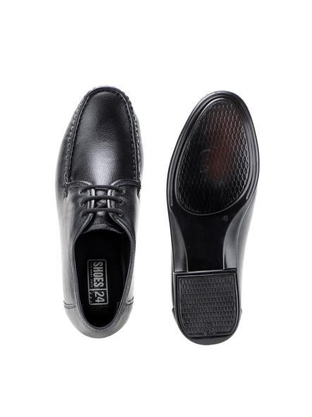 Black Leather Derby Formal SHOES24-Black-10-1