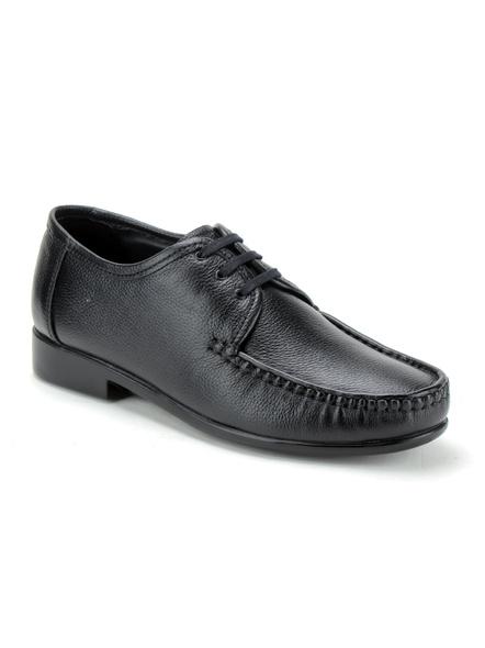 Black Leather Derby Formal SHOES24-Black-10-2