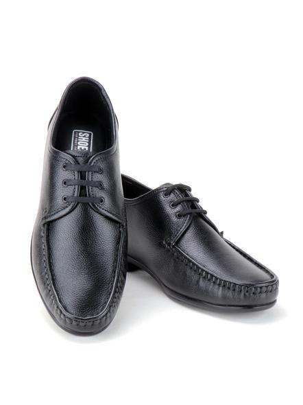 Black Leather Derby Formal SHOES24-Black-10-7