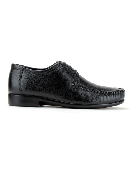 Black Leather Derby Formal SHOES24-Black-6-3