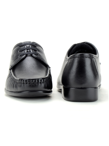 Black Leather Derby Formal SHOES24-Black-8-4