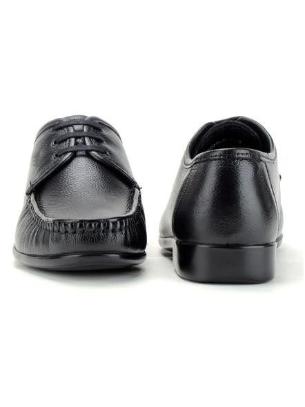 Black Leather Derby Formal SHOES24-Black-9-4