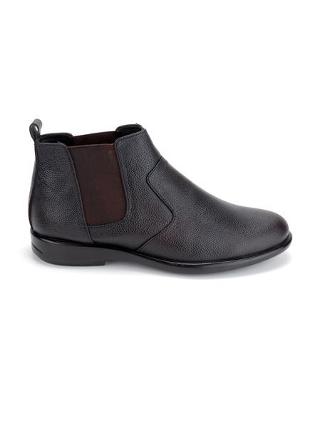 Black Leather Boot SHOES24-DL-64_BLK_12