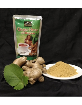 Ginger Brew w/ Oregano