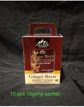 BOX 10g Ginger Brew - PLAIN