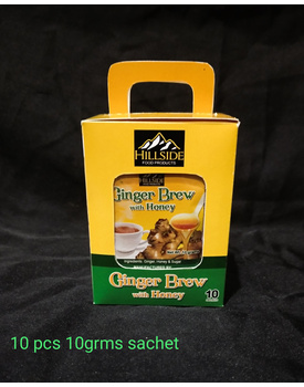 BOX 10g Ginger Brew w/ Honey