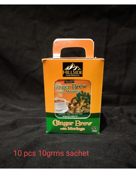 BOX 10g Ginger Brew w/ Moringa