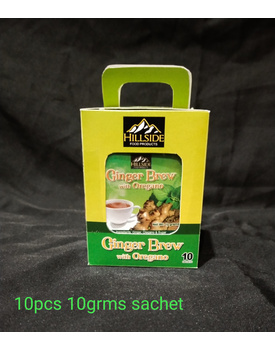 BOX 10g Ginger Brew w/ Oregano