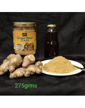 275g Ginger Brew w/ Honey Bottle