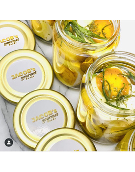 GOURMET CURED SALTED EGG IN HERBS