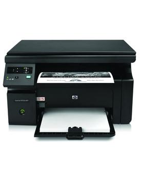 HP Laserjet Pro M1136 Multifunction Monochrome Laser Printer (Black)